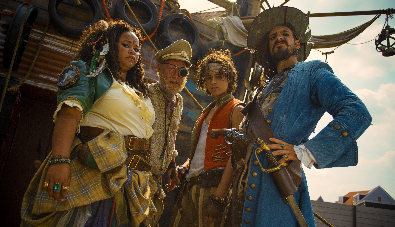 De Piraten van Hiernaast veroveren Gouden Film